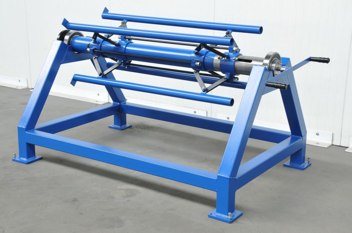 Aktualne Rozwijak do Blachy RB-1300 - Producent Maszyn Blacharskich MAAD QD03